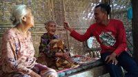 Kondisi salah satu keluarga miskin di Desa Mulyoharjo, Pati. (Foto : istimewa/Sedulur Pati)