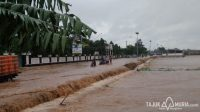 Banjir melanda sejumlah daerah di wilayah Tayu dan Dukuhseti.