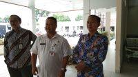 Kepala Ombudsman Perwakilan Jateng meminta keterangan kepada Direktur RSUD Soewondo. (istimewa)