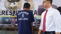 Pelaku pemerkosa gadis disabilitas saat diamankan Polres Jepara
